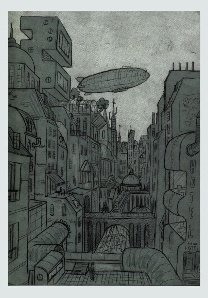 Ciudades imaginarias (Ilustraciones) 1