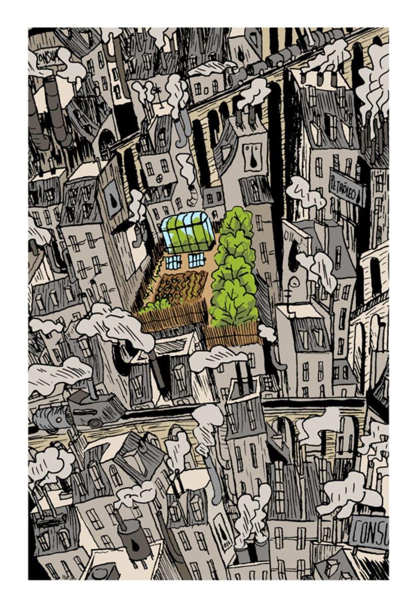 Ciudades imaginarias (Ilustraciones) 2