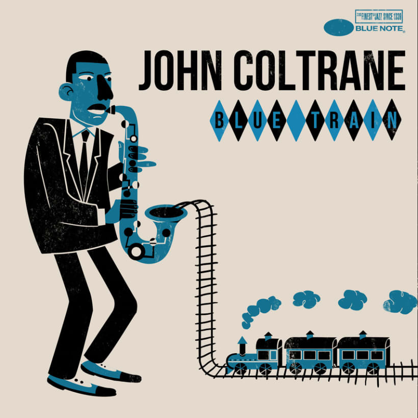 Coltrane Blue Train 1