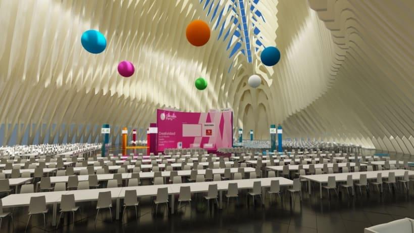 Escenografía Evento Campus Party Valencia 2011 1