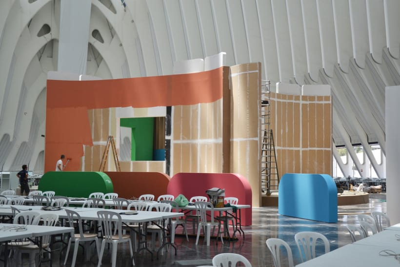 Escenografía Evento Campus Party Valencia 2011 3