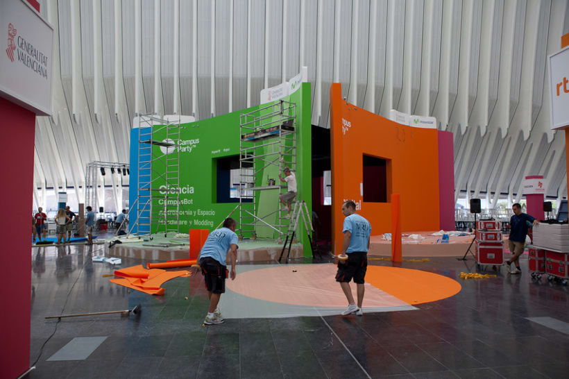 Escenografía Evento Campus Party Valencia 2011 4
