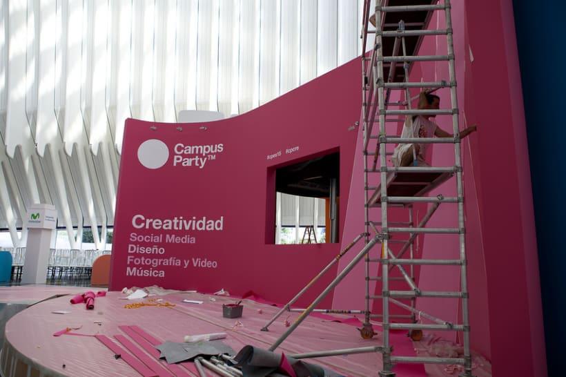 Escenografía Evento Campus Party Valencia 2011 6