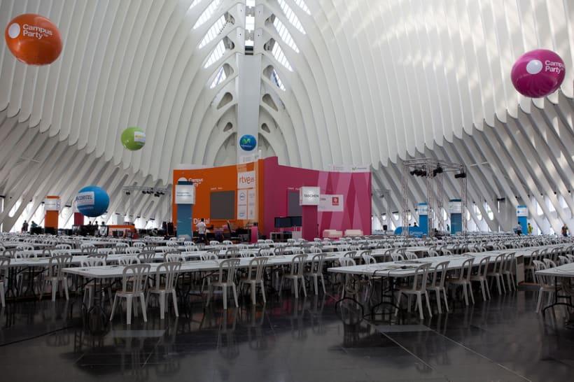 Escenografía Evento Campus Party Valencia 2011 7