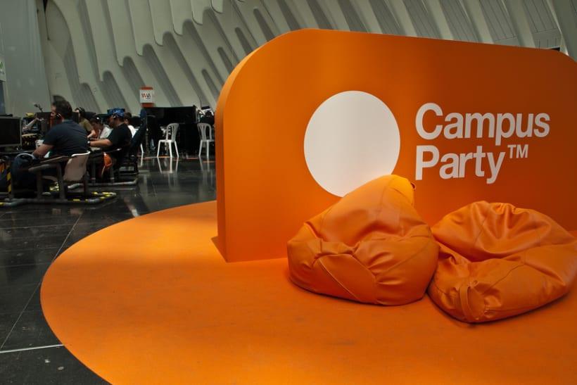 Escenografía Evento Campus Party Valencia 2011 8