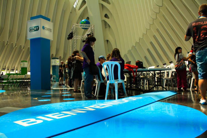 Escenografía Evento Campus Party Valencia 2011 9