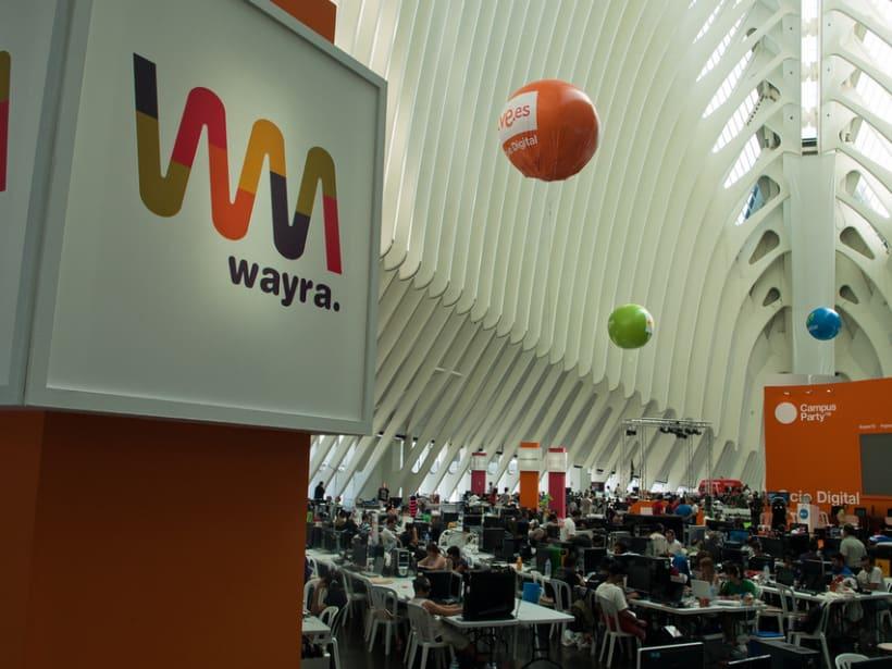 Escenografía Evento Campus Party Valencia 2011 10