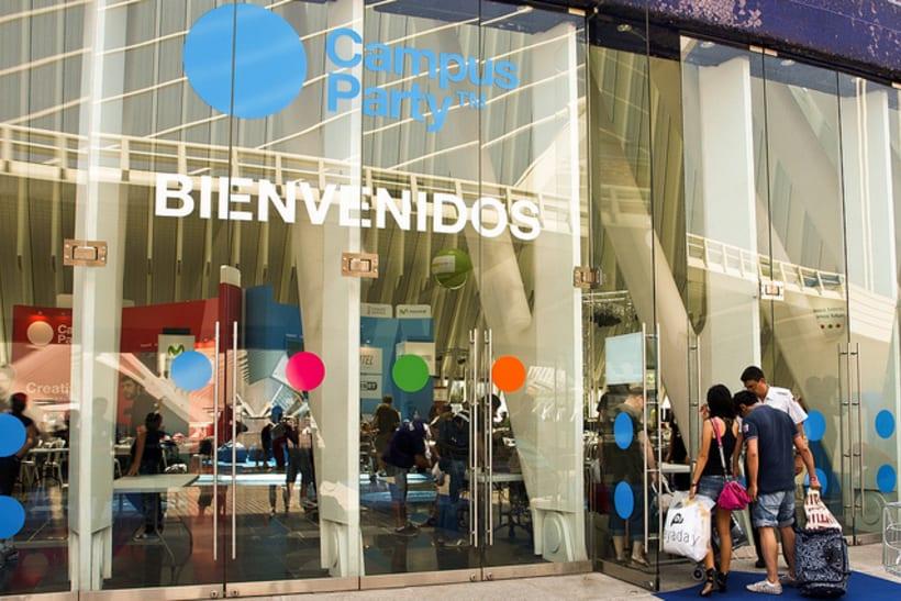 Escenografía Evento Campus Party Valencia 2011 11