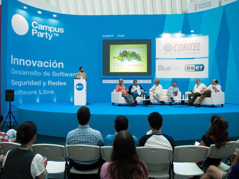 Escenografía Evento Campus Party Valencia 2011 12
