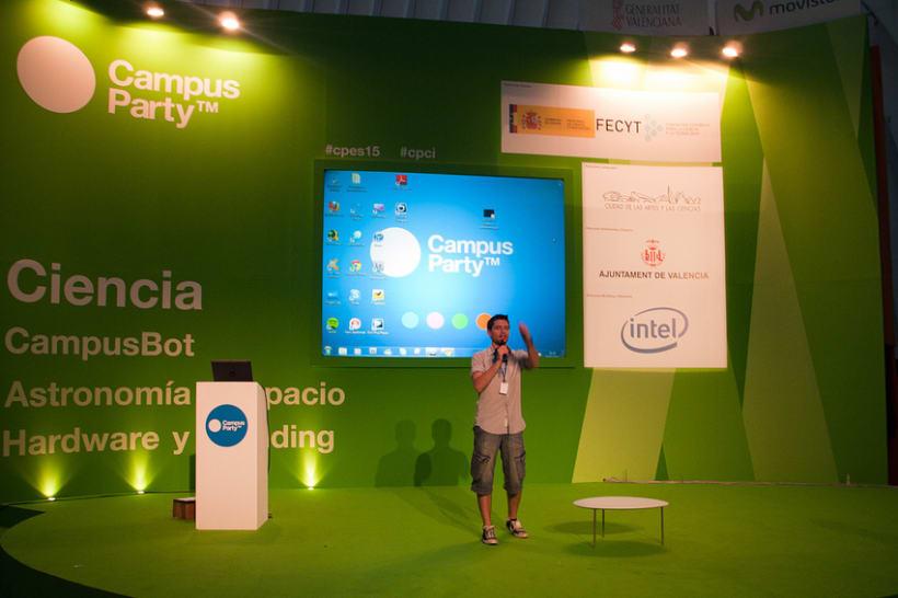 Escenografía Evento Campus Party Valencia 2011 14