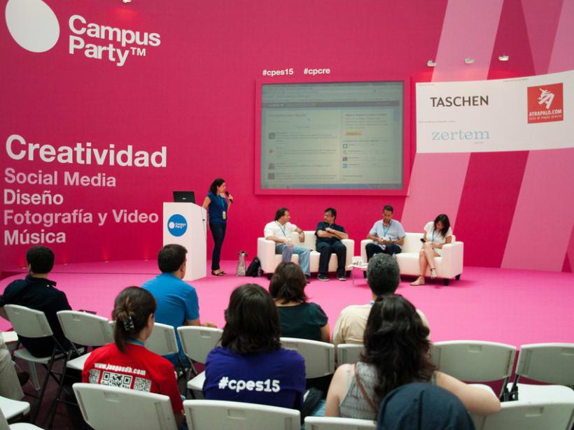 Escenografía Evento Campus Party Valencia 2011 13