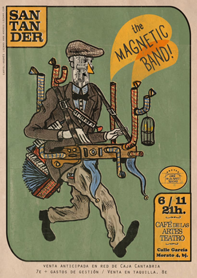 The Magnetic Band Tour 2