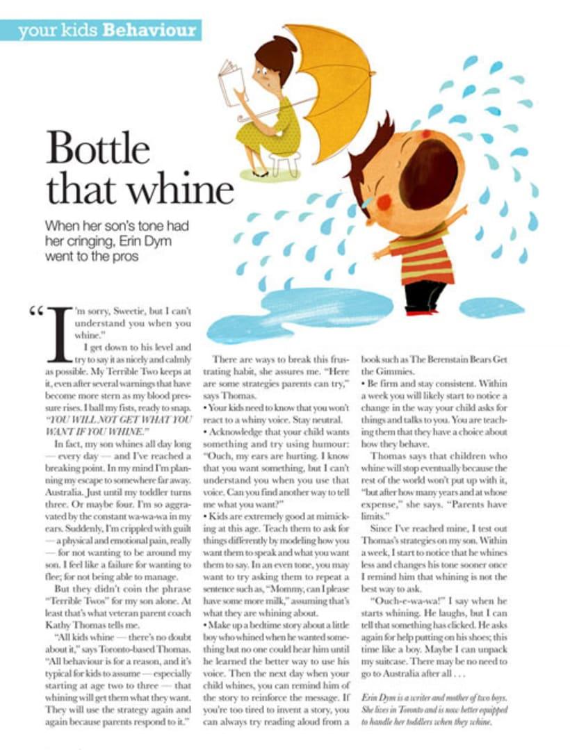 Ilustracion para revista canadiense 1