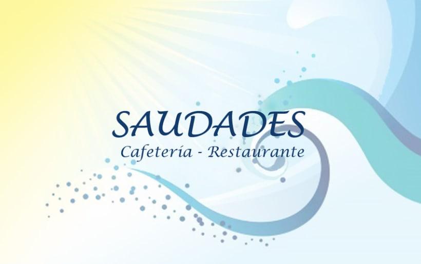 Diseño de tarjeta de visita para un restaurante 3