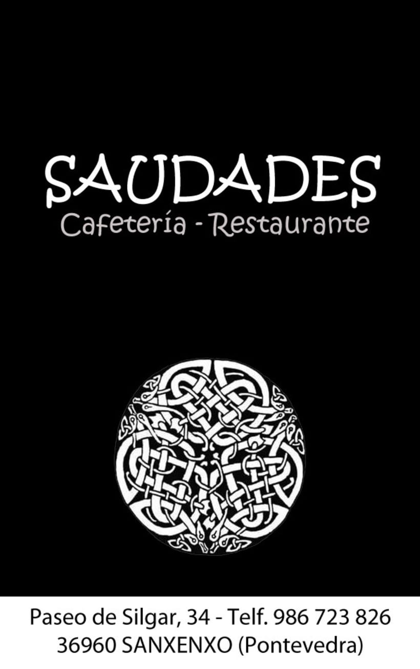 Diseño de tarjeta de visita para un restaurante 5
