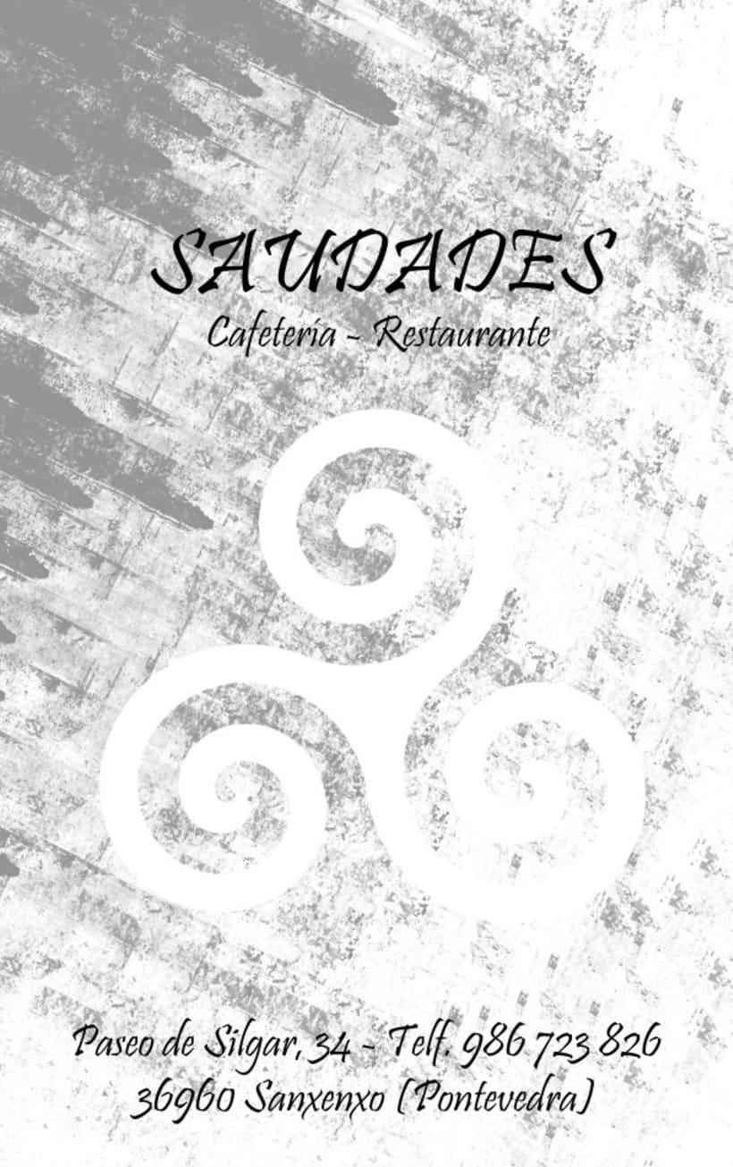Diseño de tarjeta de visita para un restaurante 2