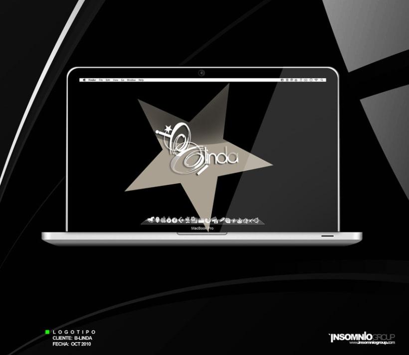 Logotipo: B-linda 1