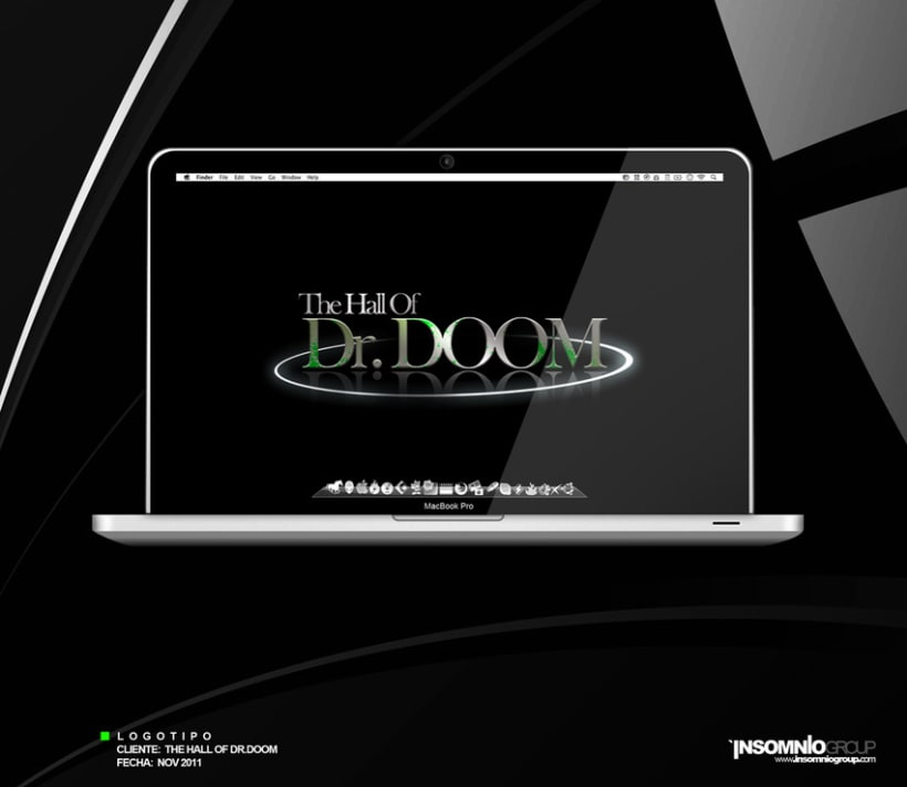 Logotipo: The Hall Of Dr. Doom 1