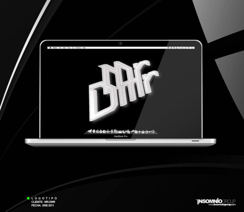 Logotipo: Mr.Dmr 1