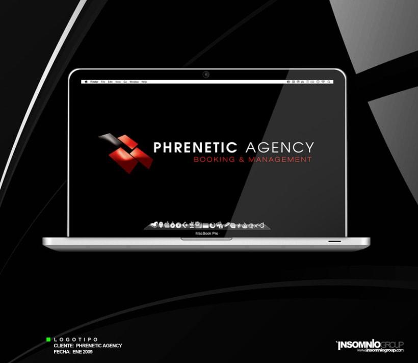 Logotipo: Phrenetic Agency 1