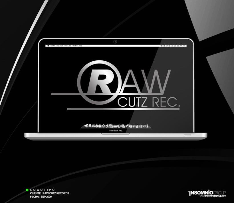 Logotipo: Raw Cutz Records 1