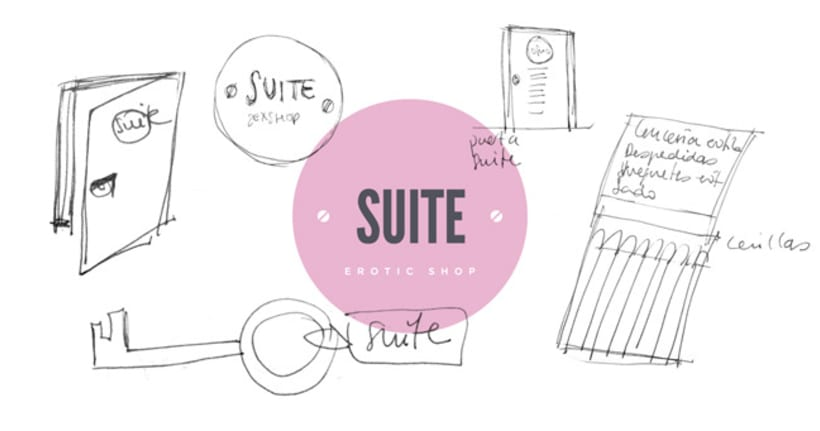 Suite. Erotic shop branding 5
