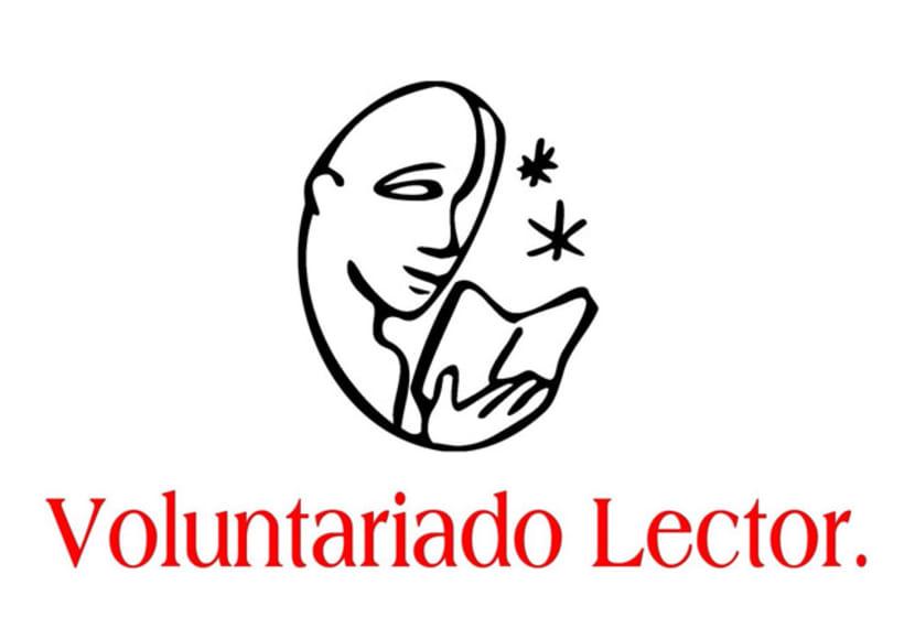 Logotipo & Cartelería para Voluntariado lector 4