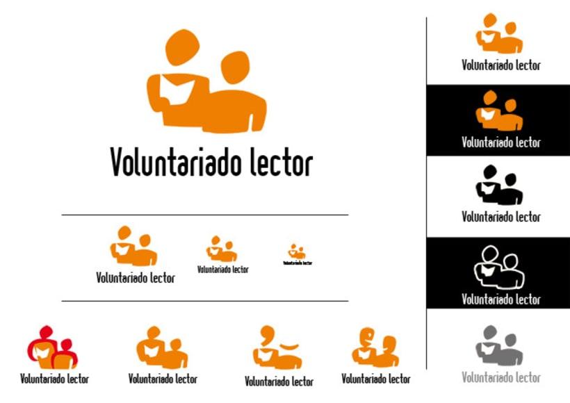 Logotipo & Cartelería para Voluntariado lector 6