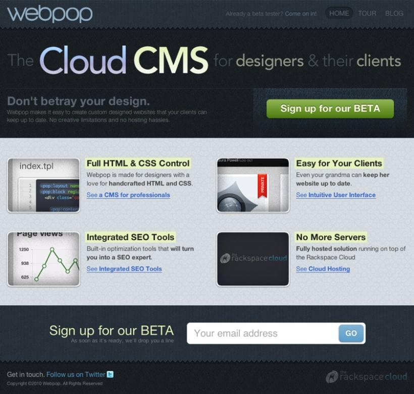 Webpop CMS 1