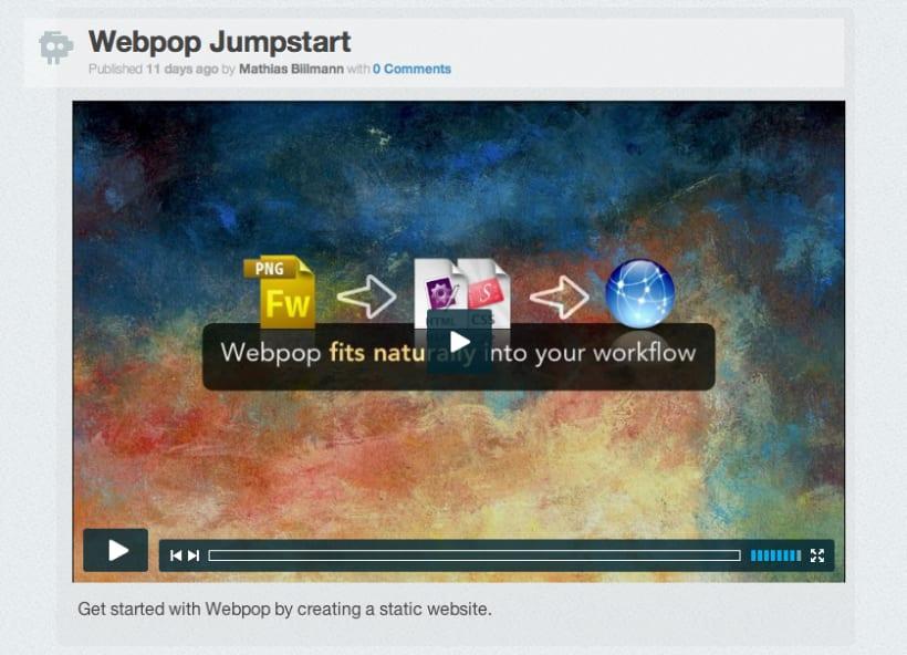 Webpop CMS 3