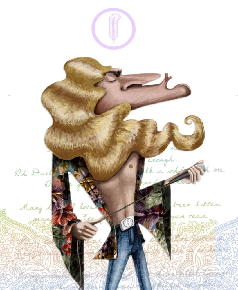 It's only rock and roll...but I like it!! (caricaturas) 1