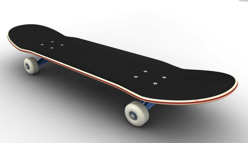 3D Skateboard 9