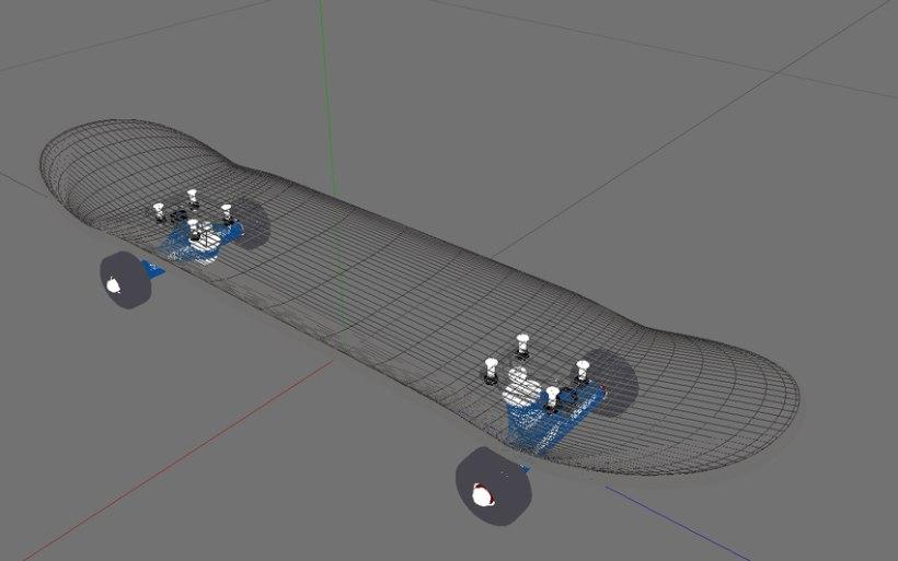 3D Skateboard 7