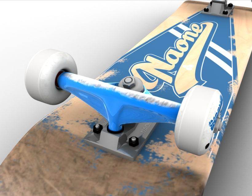 3D Skateboard 5