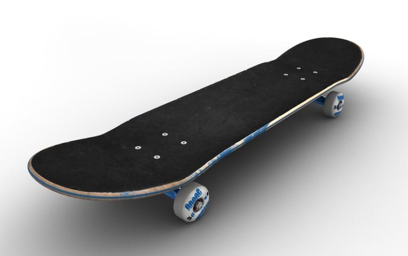 3D Skateboard 3