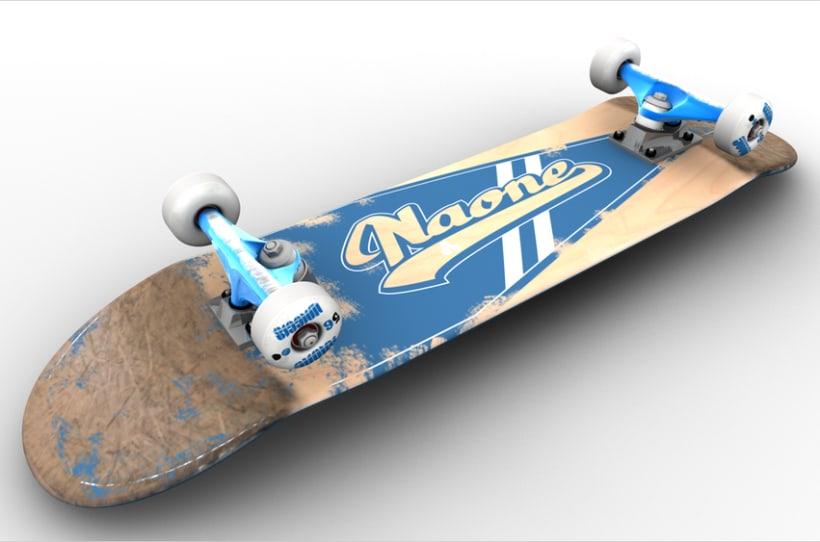 3D Skateboard 2