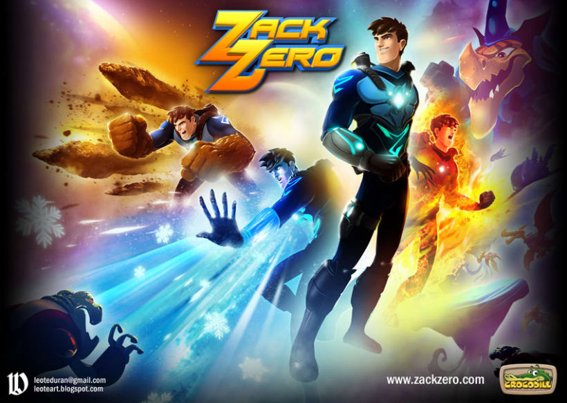 Zack Zero Concept Art - Illustrations 2