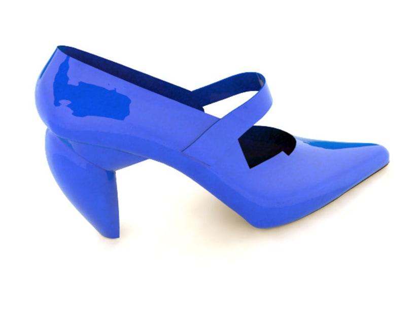 Modelado de calzado 3