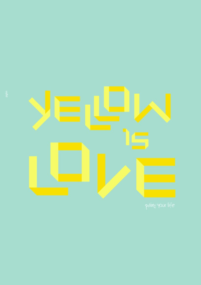 Yellow is love 1