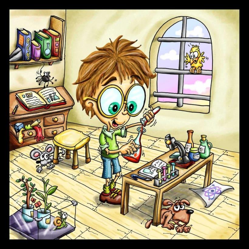 Lalo el niño científico 1