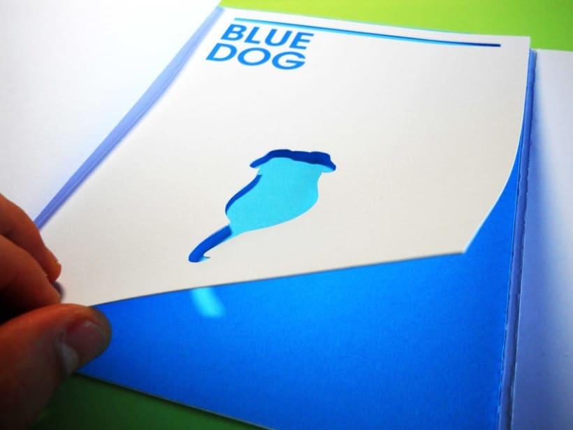 Blue Animals 11