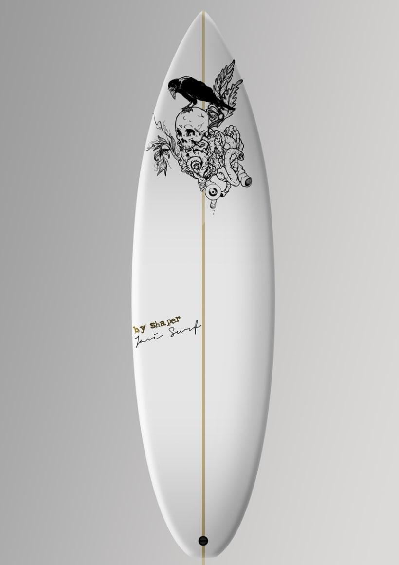 Pukas surf ejemplo de tabla personalizada a gusto del cliente - Tablas de surf personalizadas ...
