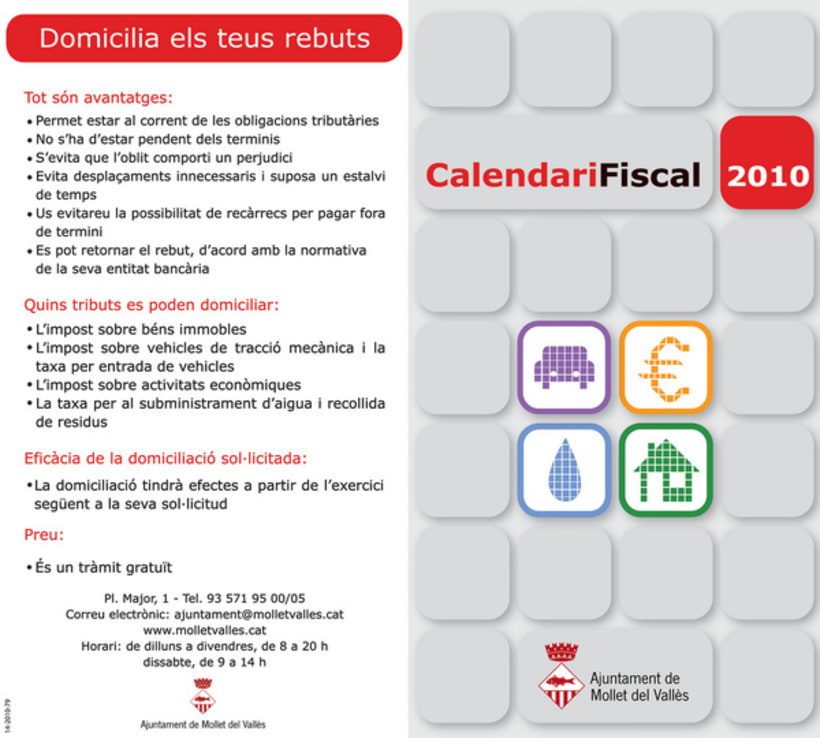 Calendari Fical Butlleta 1