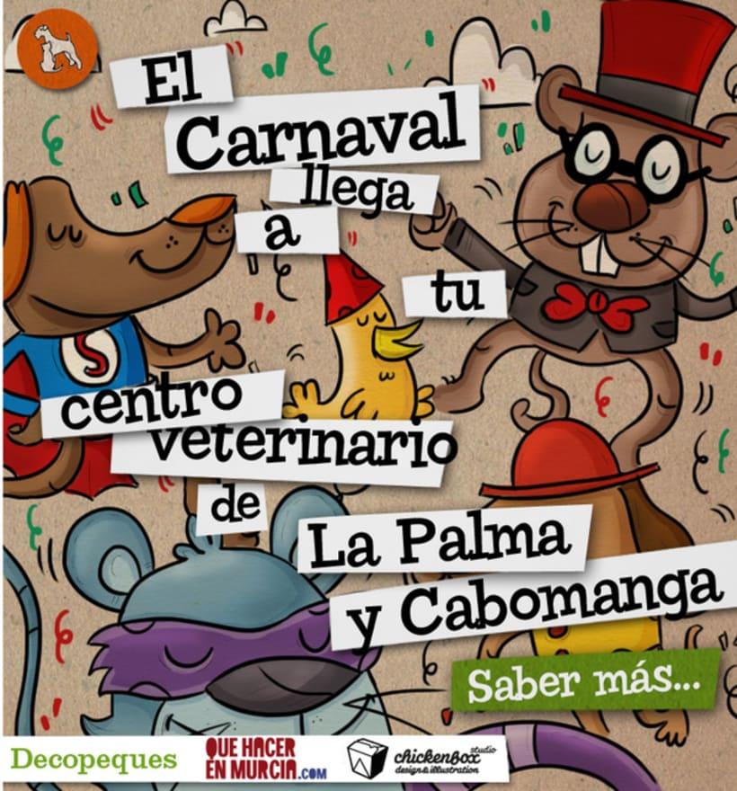 El carnaval llega a tu centro veterinario 1
