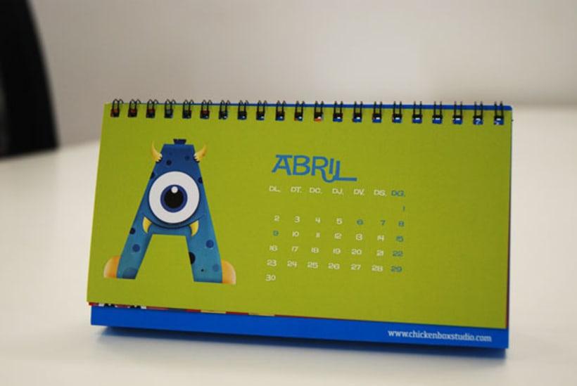 Monster Calendar 4