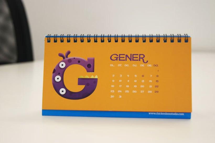 Monster Calendar 1