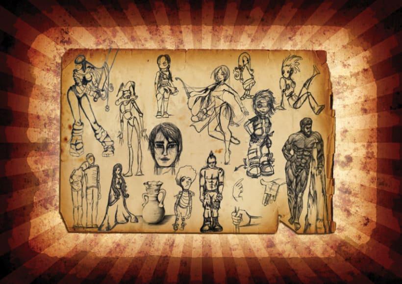 Ilustración, Concept Art, Diseño, Animación 28
