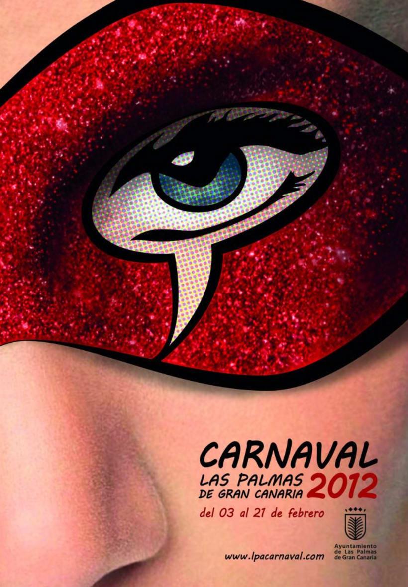 GANADOR Cartel Carnaval Las Palmas GC 2012 2