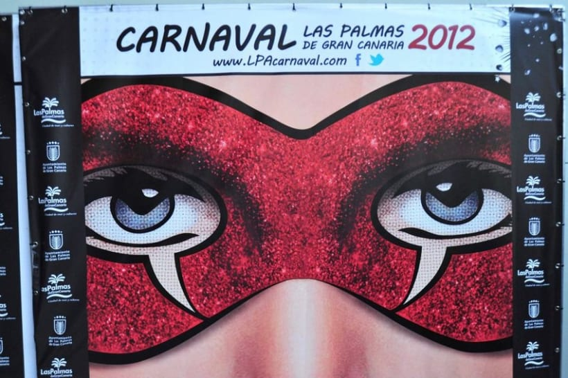GANADOR Cartel Carnaval Las Palmas GC 2012 7