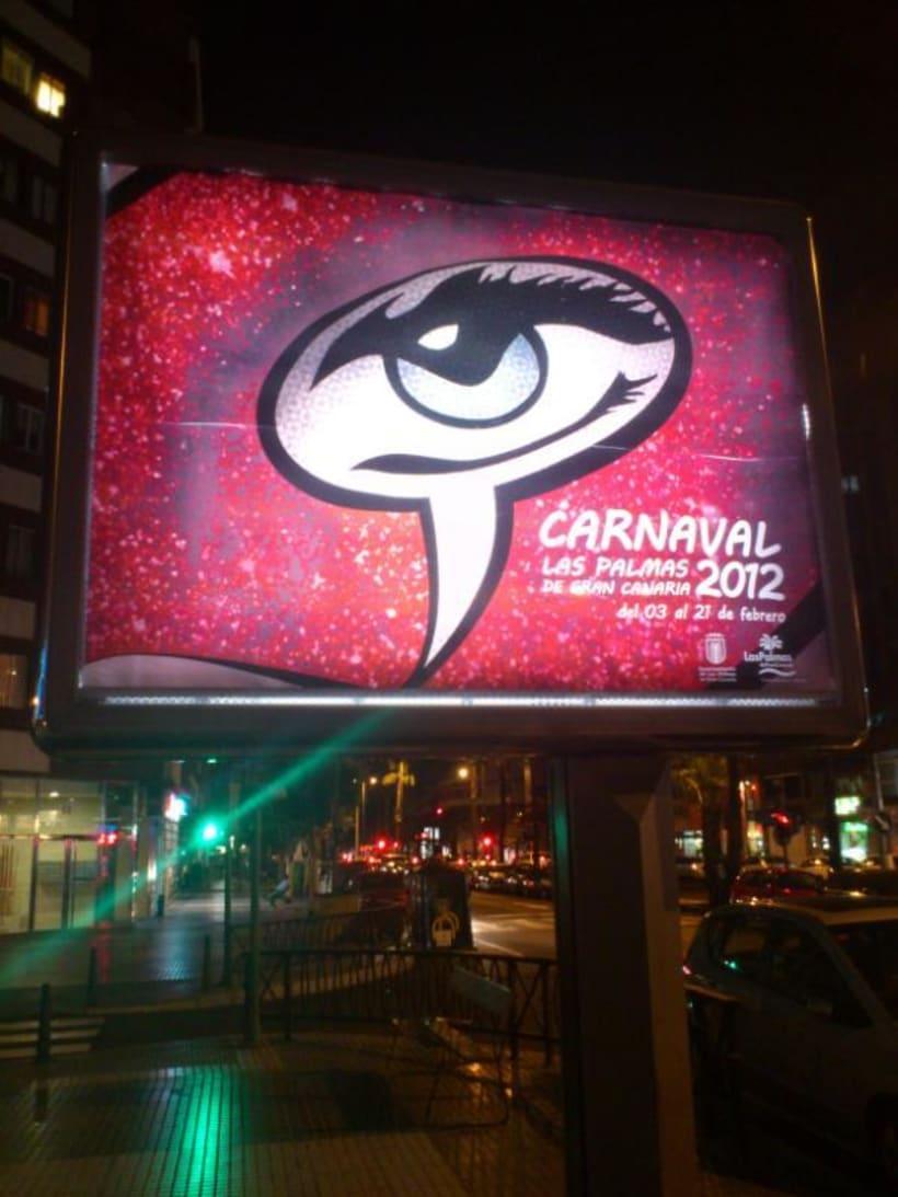GANADOR Cartel Carnaval Las Palmas GC 2012 5